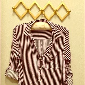 Tops - Long sleeve button down shirt